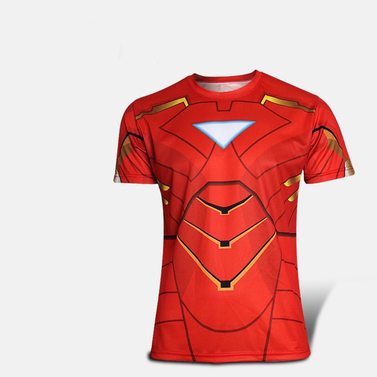 kaos superhero iron man